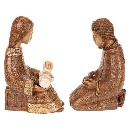 Natividad Virgen campesina marrón s4
