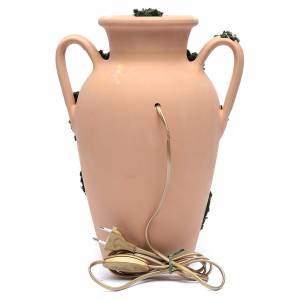 Natività 16 cm nel vaso a due manici terracotta Deruta 35 cm s4