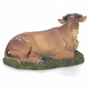 Natività 20 cm resina con animali s4