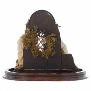 Natività presepe napoletano con cupola 25x25 cm s5