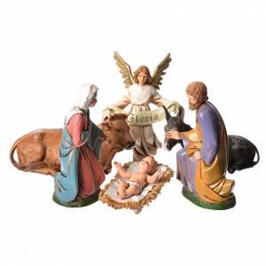 Nativité 12 cm 6 pcs Moranduzzo s1