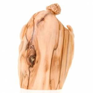 Nativité bois d'olivier Bethléem cm 12.5 s2