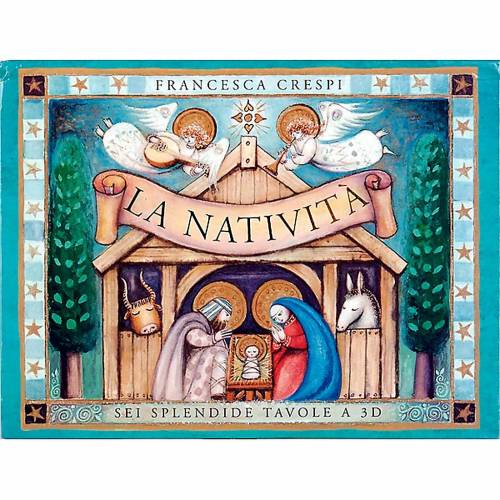 Nativité, livre pop up ITALIEN s1