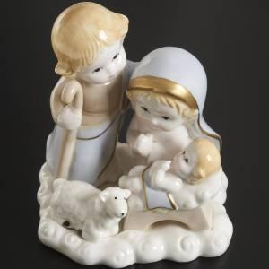 Nativité stylisée céramique 14 cm s2