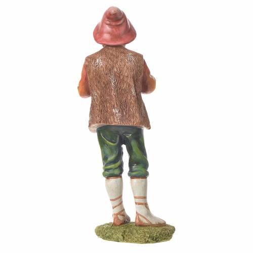 Nativity figurine, bagpiper, 30cm resin s6