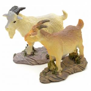 Nativity figurine, resin goat, 10-14cm s2