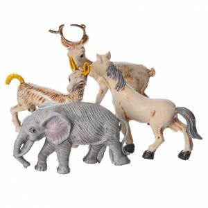 Nativity figurines, set of 4 animals, 10cm s6
