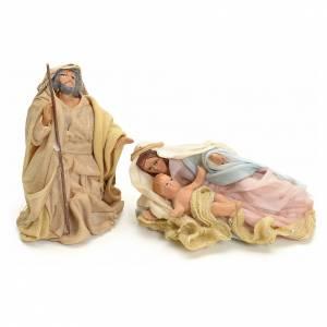 Nativity sets: Nativity, lying figurines 8cm, Neapolitan nativity.