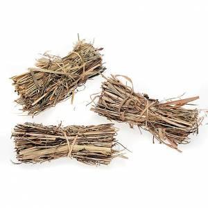 Nativity scene accessories, 3-piece hay bundle set s1