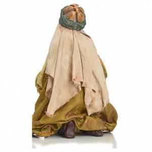 Nativity scene, Ethiopian Wise Man 18cm, Angela Tripi s3