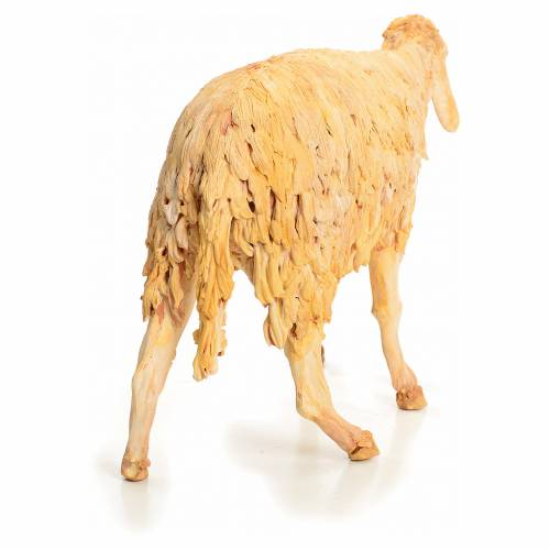 Nativity scene figurine, sheep 30 cm, Angela Tripi s3