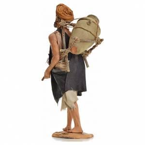 Angela Tripi Nativity scene: Nativity scene figurine, shepherd with amphora 30cm, Angela Trip