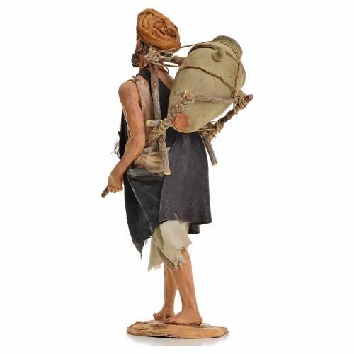 Nativity scene figurine, shepherd with amphora 30cm, Angela Trip s3