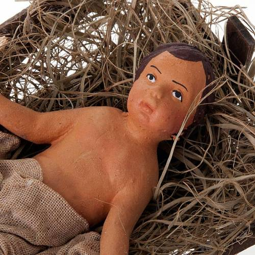 Nativity scene set clay 24 cm tall s7
