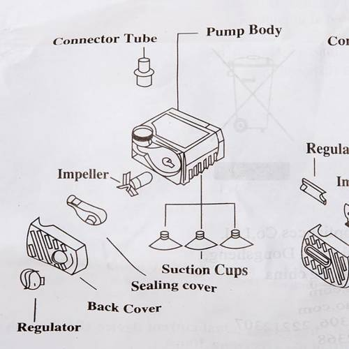 Nativity set accessories, electrical water pump s2