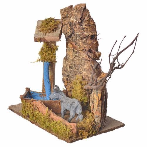 Nativity setting, donkey 10cm s3
