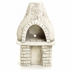 Fireplaces and ovens: Nativity setting, oven in plaster