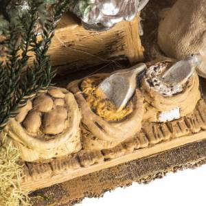Nativity setting, shop with tent s4