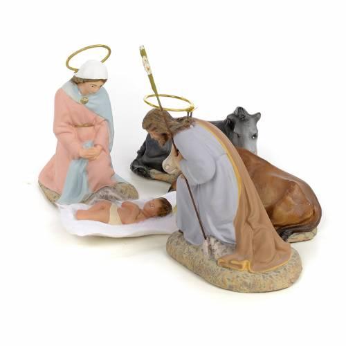 Nativity with 5 pieces, 40cm (fine decoration) s2
