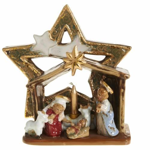 Nativity with star-shaped hut s1