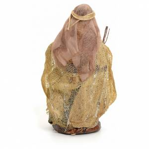 Neapolitan nativity figurine, Arabian woman with stick, 8cm s3