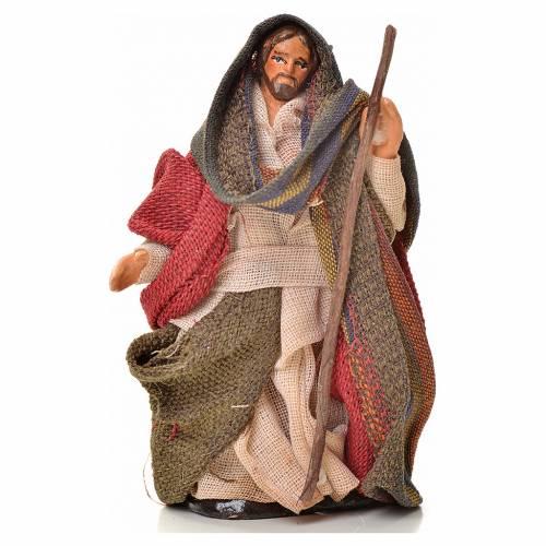 Neapolitan Nativity figurine, Joseph, Mary and baby Jesus, 6 cm s2