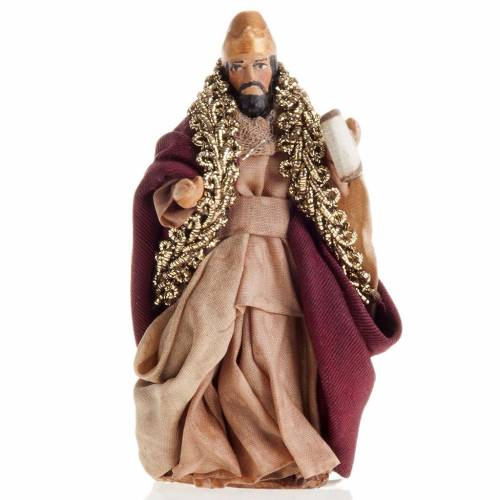 Neapolitan Nativity figurine, King Herod 8cm s1