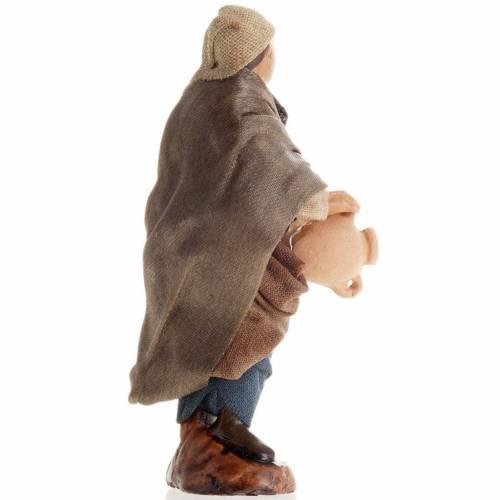 Neapolitan Nativity figurine, Man with Jug 8cm s2
