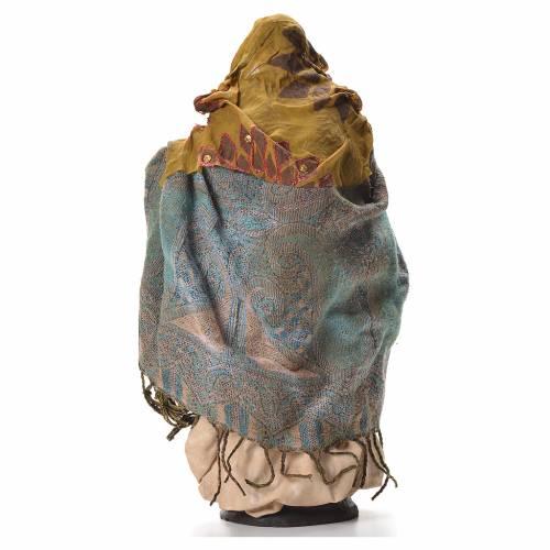 Neapolitan nativity figurine, pregnant woman 30cm s3