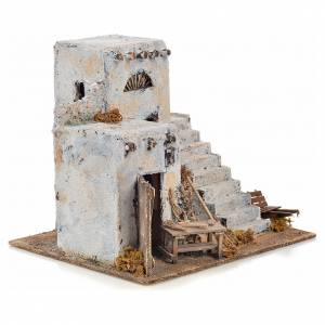Neapolitan Nativity scene accessory, Arabian house 26x22x22 s2