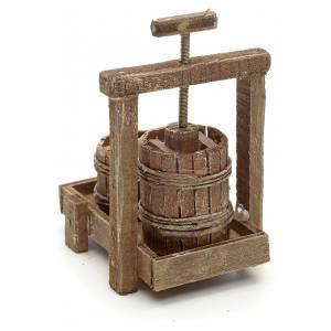 Neapolitan Nativity scene accessory, cheese press s3