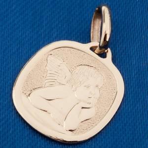 Colgantes, cruces y broches: Ángel de Raffaello medalla oro 750/00 - gr 1,60.