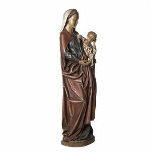 Notre Dame de Boquen 145 cm bois peint Bethléem s2