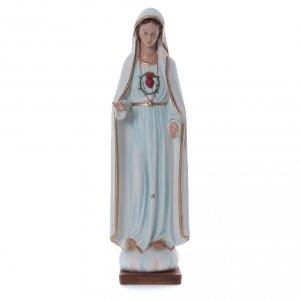 Notre-Dame de Fatima fibre de verre colorée 100cm s1