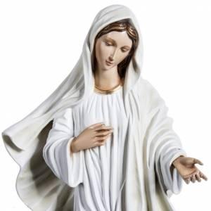 Notre-Dame de Medjugorje 60 cm fibre de verre colorée s2