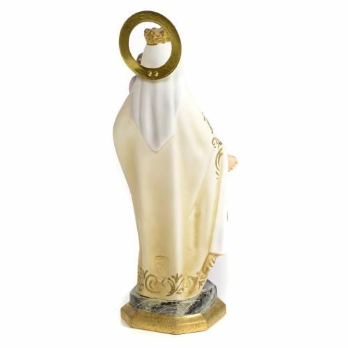 Notre-Dame du Mont-Carmel 20 cm pâte à bois finition élégante s3