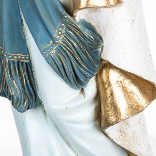Nuestra Señora de Lourdes 100 cm. resina Fontanini s5