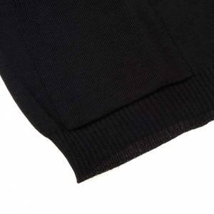 Jacken, Westen, Pullover: Offene Weste mit Taschen Schwarz