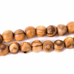 Holz Rosenkränze: Olivenholzrosenkranz Terrasanta