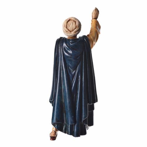 Oriental man walking, nativity figurine, 13cm Moranduzzo s2