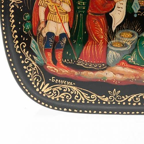 Original Russian Lacquer box