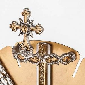 Ostensoirs, Reliquaires  en métal: Ostensoir Marie et anges