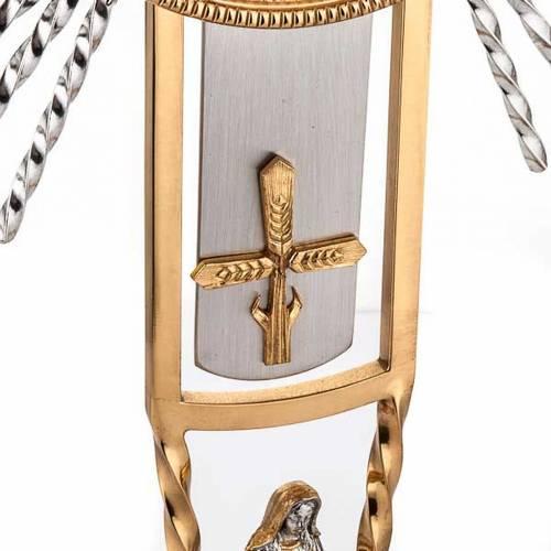 Ostensorio croce e Maria s3
