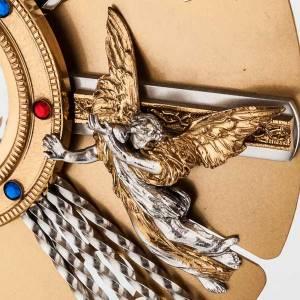 Ostensorio Virgen y ángeles s3