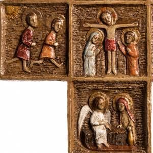 Kruzifixe aus Stein: Oster Kreuz aus Stein, Bethleem.