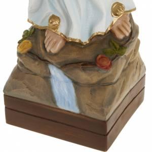 Our Lady of Lourdes, fiberglass statue, 70 cm s4