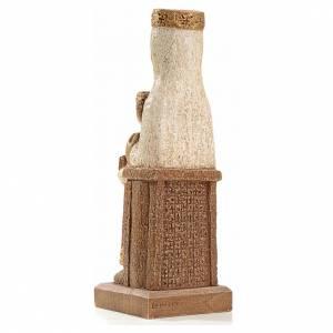 Our Lady of the Pillar stone statue 25 cm, Bethlehem Nuns s3
