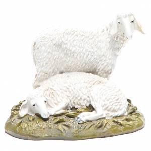 Animales para el pesebre: Ovejas 16 cm Linea Martino Landi