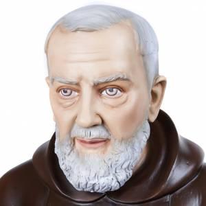 Statue in Vetroresina: Padre Pio 110 cm vetroresina