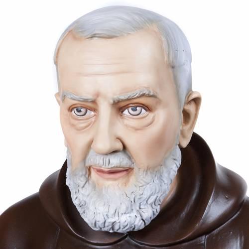 Padre Pio 110 cm vetroresina s2